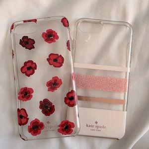 2 Kate Spade iPhone 8 Plus cases!